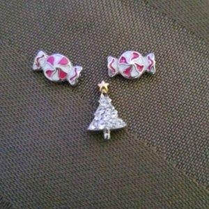 Origami Owl Christmas theme charms